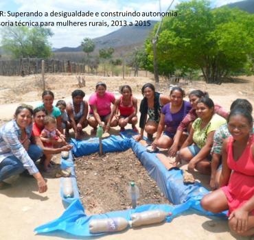 Superando a desigualdade e construindo autonomia - Assessoria técnica para mulheres rurais
